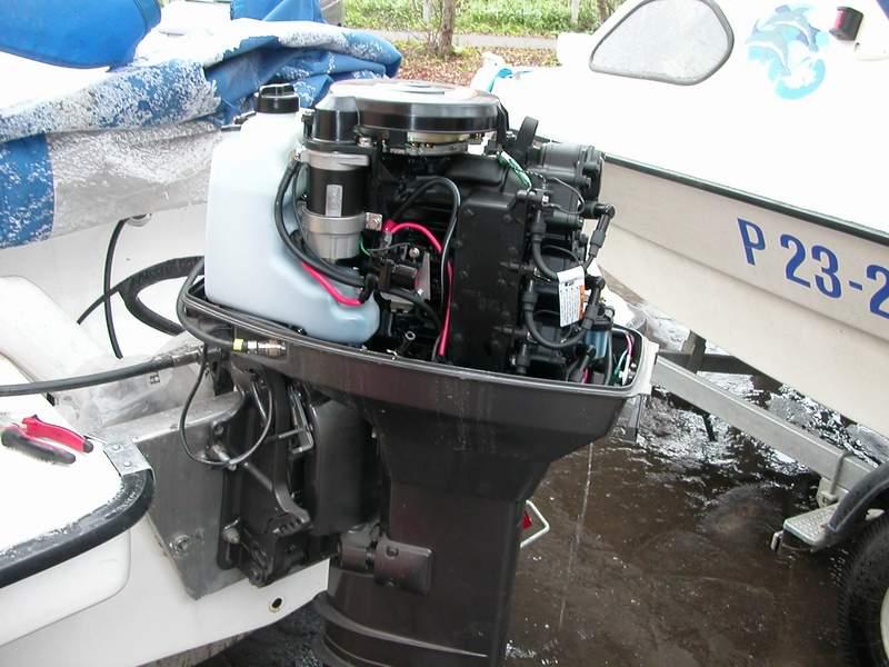 все для консервации лодочного мотора