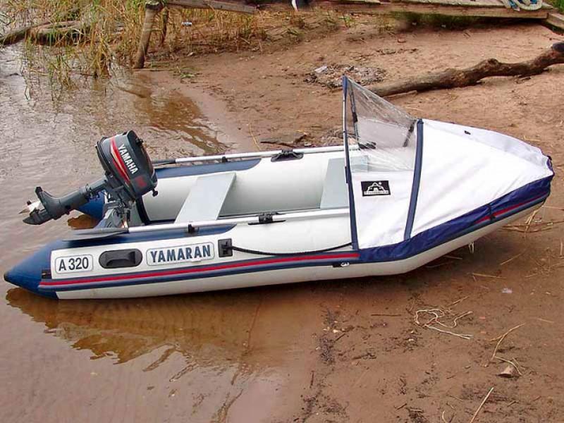 Купить для лодки ямаран носовой тенте